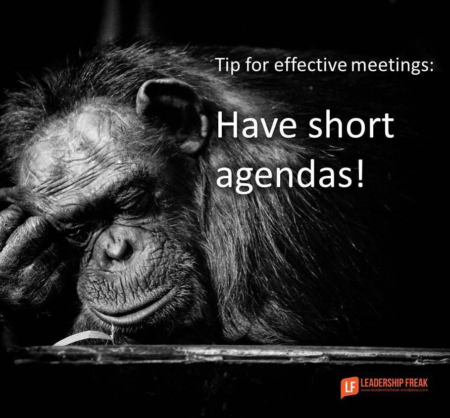 Polite meetings waste time