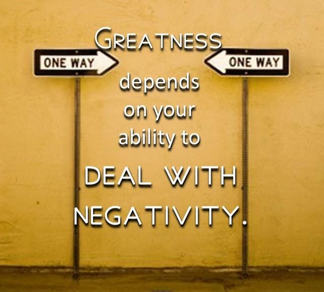 Six Positive Ways to Rise Above Negativity