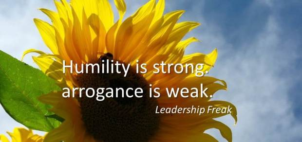 humility is strong