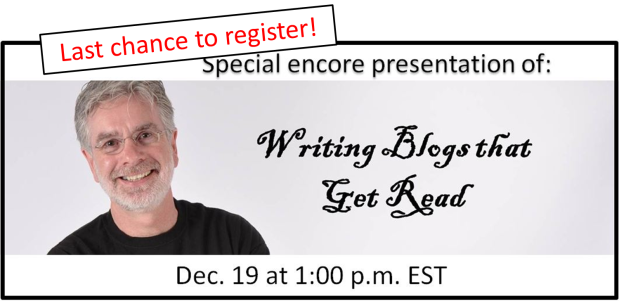 last chance to register dec 19