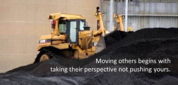 Moving others
