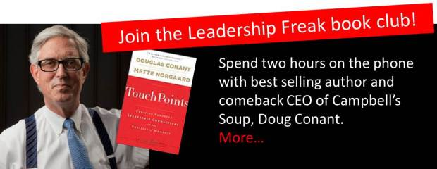 Leadership Freak Book Club with Doug Conant