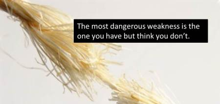 The Most Dangerous Leadership Weakness