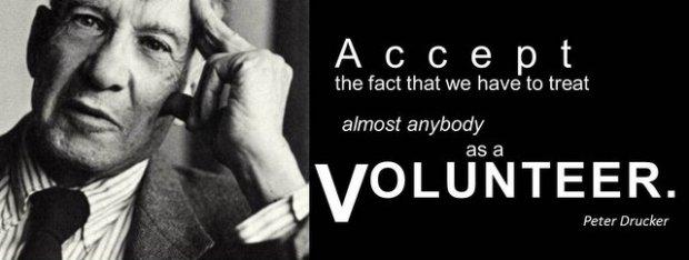 Drucker volunteer quote