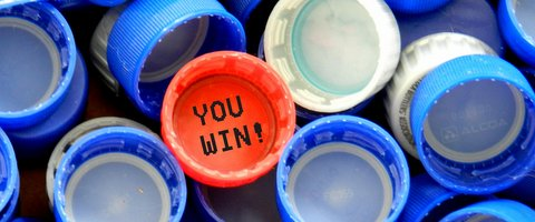 winning bottle cap