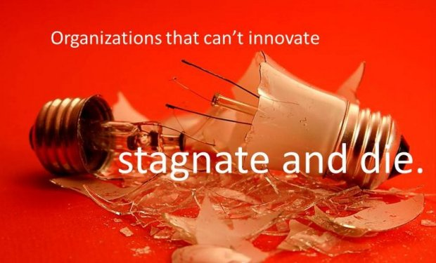 stagnant organizations