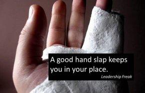 hand slap