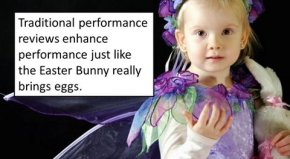 performance reviews quote