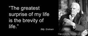 Billy Graham on the greatest surprise in life