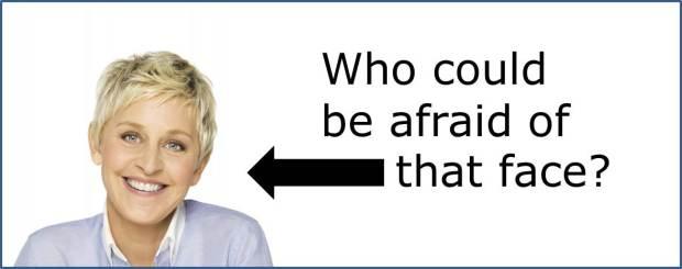 Ellen DeGeneres vulnerability