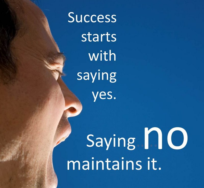 Ten Ways to Say Yes to Saying No
