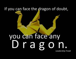 dragon of doubt