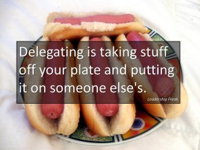 delegating 1
