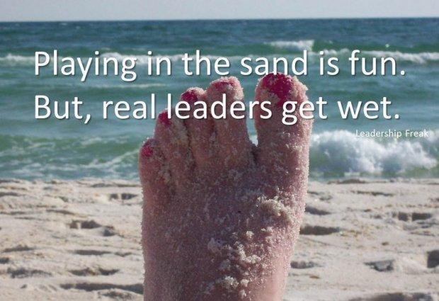 sandy foot