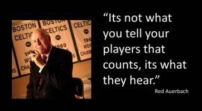 red auerbach quote