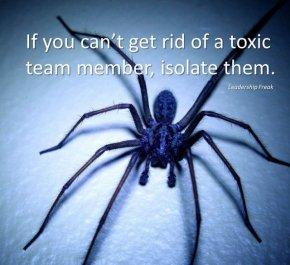 toxic team member