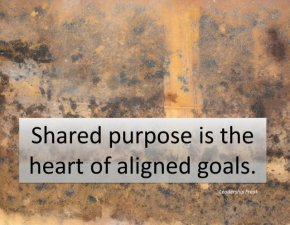 shared purpose