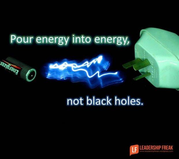 energy into energy