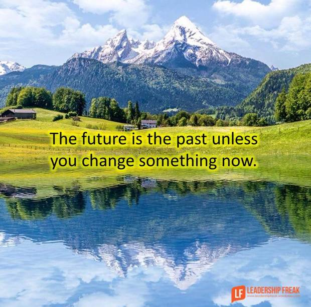 the future is the past