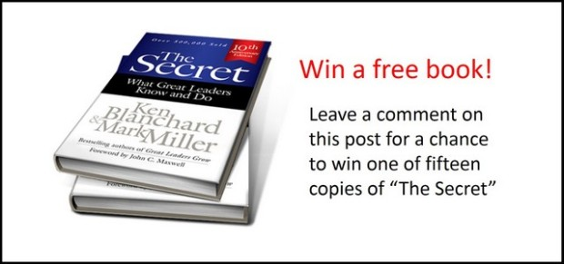 the secret book giveaway