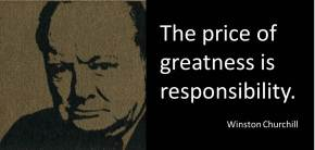 winston churchill the price of greatness