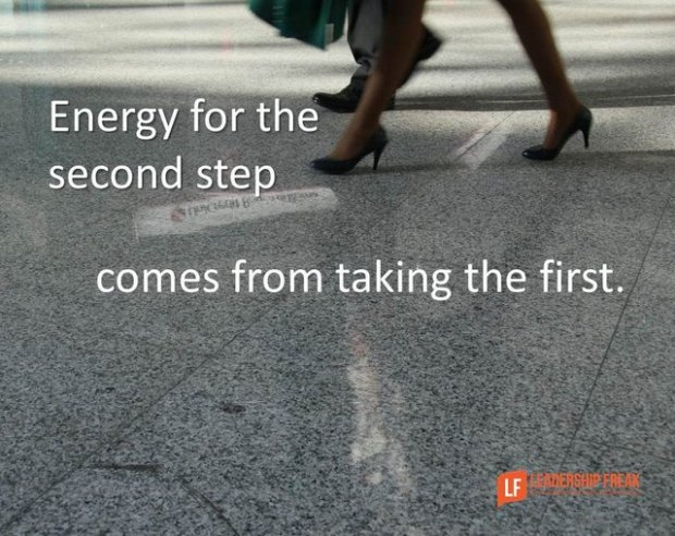 energy for the second step