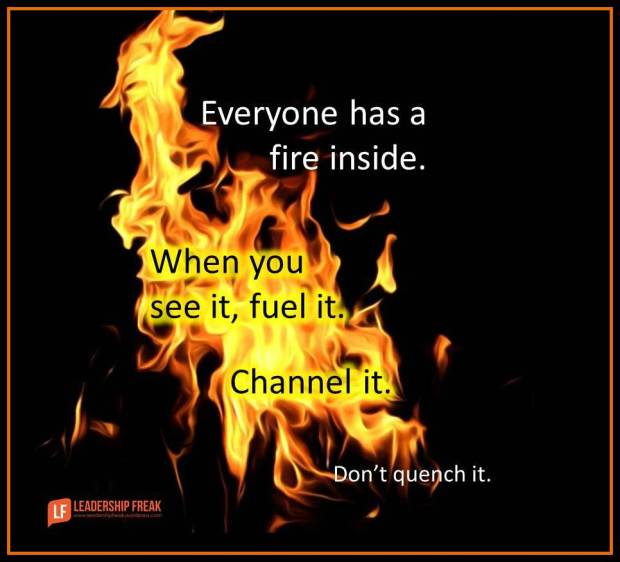 everyone has a fire inside