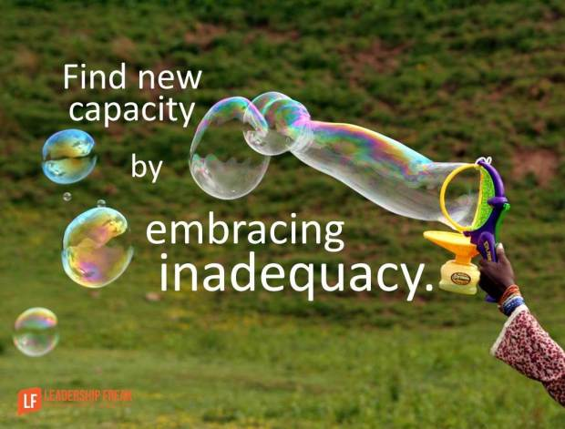 find new capacity