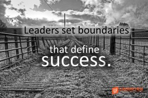 leaders set boundaries