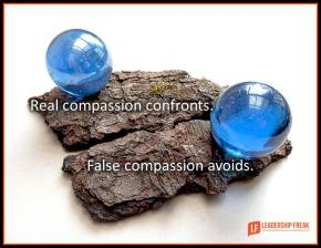 real compassion confronts