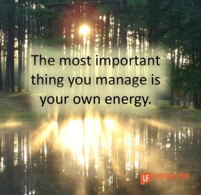 the most important thing you manage