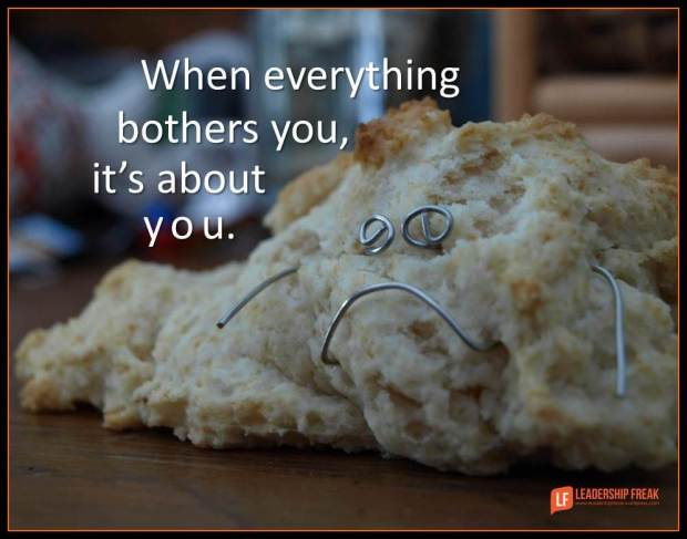 when everything bothers you