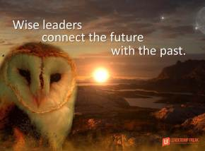 wise leaders connect the future with the past