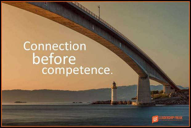 connection before competence