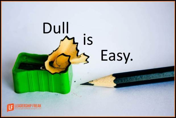 dull is easy