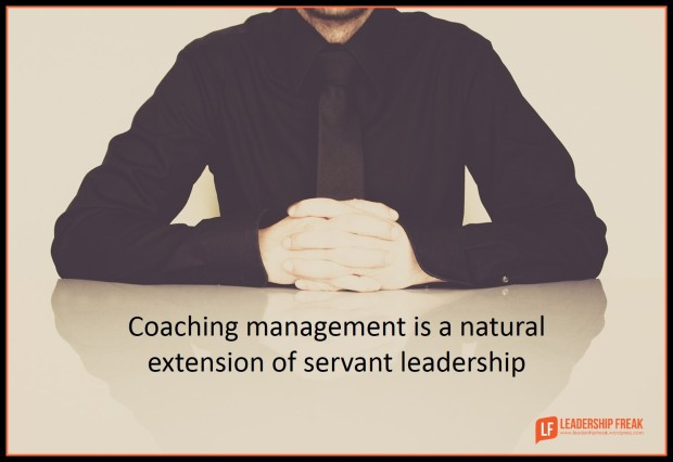 coaching management is a natural extention of servant leadership