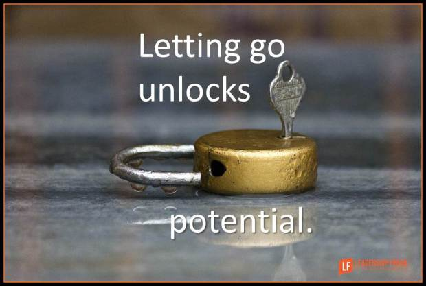 Letting go unlocks potential
