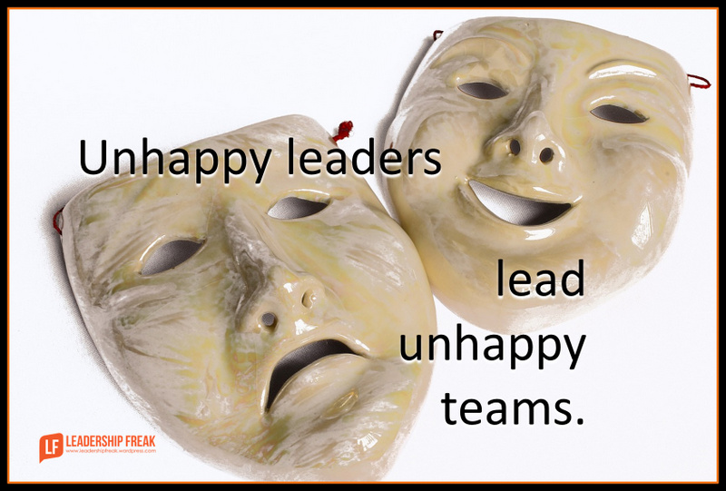 Breaking the Glum-Leader Syndrome | Leadership Freak