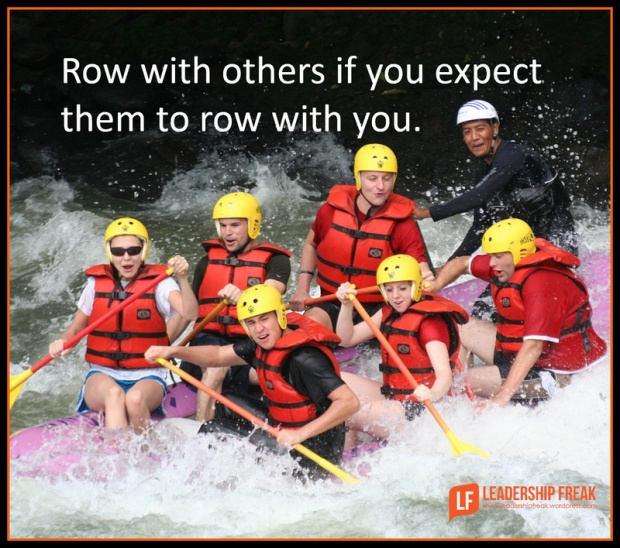 row with others if you expect them to row with you.png