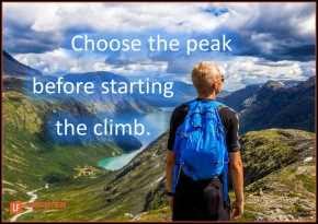 choose the peak before starting the climb.png