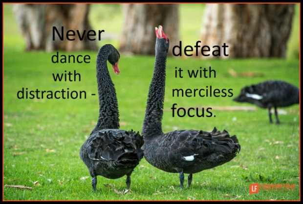 never dance with distraction defeat it with merciless focus.png