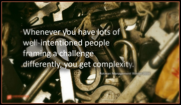 when ever you have lot's of well-intentioned people framing a problem differently you get complexity.png-001