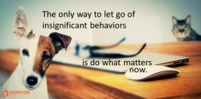 the only way to let go of insignifacant behaviors is do what matters now.png