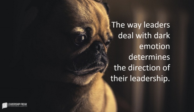 the way leaders deal with dark emotion determines the direction of their leadership.png