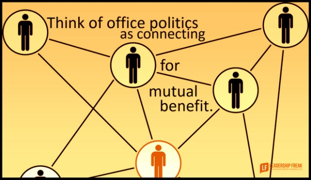 think of office politics as connecting for mutal benefit.png