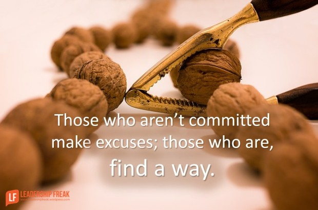 those who aren't committed