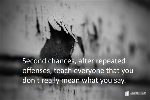 second chances after repeated offenses