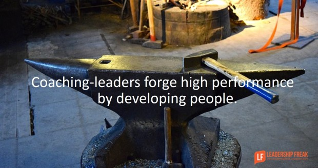 coaching-leaders forge high performance by developing people