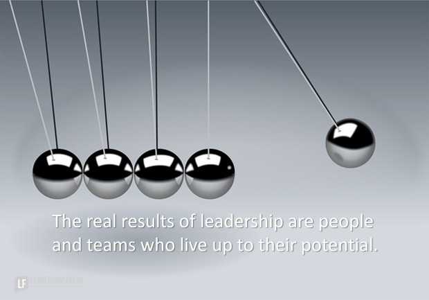 the real results of leadership