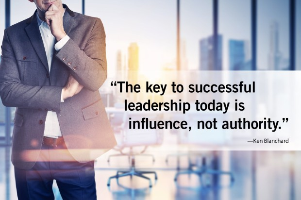 the key to leadership